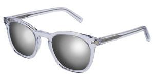 Saint Laurent SL 28 012 SILVERCRYSTAL