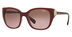 Vogue VO5061SB 232314 PINK GRADIENT BROWNTOP BORDEAUX ON OPAL PINK