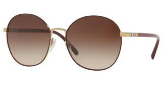 Burberry BE3094 125613 BROWN GRADIENTLIGHT GOLD