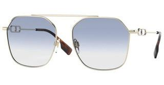 Burberry BE3124 110919 CLEAR GRADIENT LIGHT BLUELIGHT GOLD