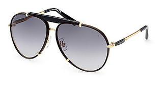 Dsquared DQ0365 30B grau verlaufendtiefes gold glanz
