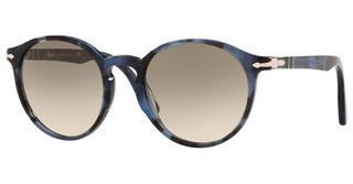 Persol PO3171S 110532 CLEAR GRADIENT GREYTORTOISE BLUE