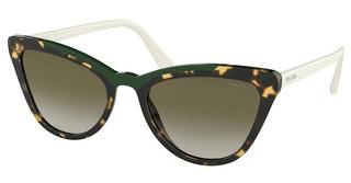 Prada PR 01VS 3215O2 GREEN GRADIENTMEDIUM HAVANA/GREEN