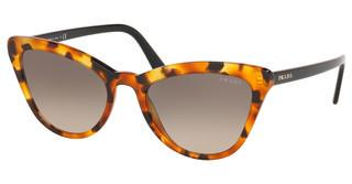 Prada PR 01VS UF33D0 LIGHT BROWN GRAD LIGHT GREYORANGE HAVANA