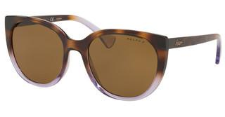 Ralph RA5249 573683 DARK BROWN POLARTOP HAVANA GRAD ON TRASP VIOLE
