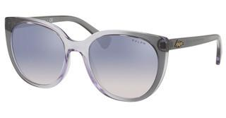 Ralph RA5249 57377B CLEAR GRAD BLUE MIRROR SILVERTOP GREY GRAD ON LILLA TRASP