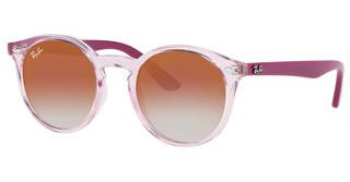 Ray-Ban Junior RJ9064S 7052V0 RED MIRROR REDTRANSPARENT PINK