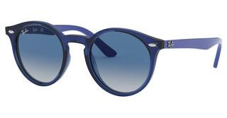 Ray-Ban Junior RJ9064S 70624L GREY GRADIENT DARK BLUETRANSPARENT BLUE