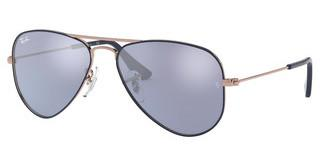 Ray-Ban Junior RJ9506S 264/1U BLUE FLASH SILVERCOPPER TOP ON BLUE