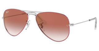 Ray-Ban Junior RJ9506S 274/V0 RED MIRROR REDSILVER ON TOP RED