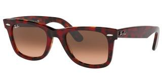 Ray-Ban RB2140 1275A5 PINK GRADIENT BROWNTOP TR RED ON ORANGE HAVANA