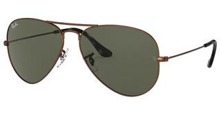 Ray-Ban RB3025 918931 G-15 GREENSAND TRANSPARENT BROWN