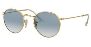 Ray-Ban RB3447N 001/3F CRYSTAL WHITE GRAD. BLUEARISTA