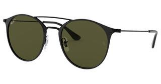 Ray-Ban RB3546 186/9A POLAR GREENBLACK TOP MATTE BLACK