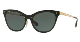 Ray-Ban RB3580N 043/71 DARK GREENBRUSCHED GOLD