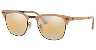 Ray-Ban RB3716 9157AG YELLOW BI-MIRROR GREYBLACK ON TOP MATTE BEIGE