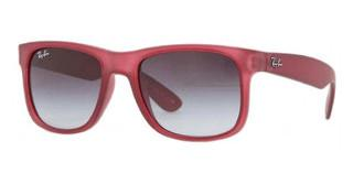 Ray-Ban RB4165 60038G GREY GRADIENTTRASPARENT VIOLET RUBBER
