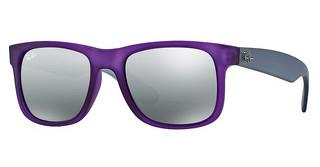 Ray-Ban RB4165 602488 GREY SILVER MIRROR GRADIENTRUBBER DARK VIOLET