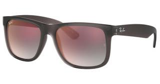 Ray-Ban RB4165 606/U0 GREY GRADIENT MIRROR REDTRASPARENT GREY