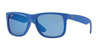 Ray-Ban RB4165 608855 BLUE MIRRORRUBBER BLUE