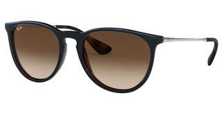 Ray-Ban RB4171 631513 BROWN GRADIENT DARK BROWNMIRROR BLUE ON LIGHT BROWN