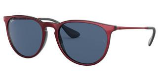 Ray-Ban RB4171 647280 DARK BLUEMETALLIC RED ON BLACK