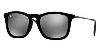 Ray-Ban RB4187 60756G GREY MIRROR SILVERFLOCK BLACK