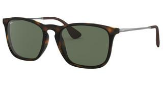 Ray-Ban RB4187 710/71 DARK GREENLIGHT HAVANA