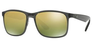 Ray-Ban RB4264 876/6O GREEN POLAR MIRROR GOLDSHINY GREY