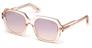Tom Ford FT0660 72Z violett ver. - verspiegeltrosa glanz