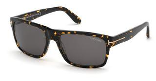 Tom Ford FT0678 52A grauhavanna dunkel