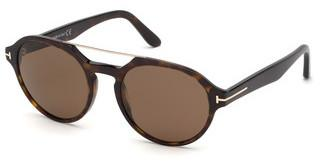 Tom Ford FT0696 52H braun polarisierendhavanna dunkel