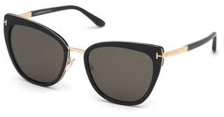 Tom Ford FT0717 01A grauschwarz glanz