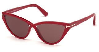 Tom Ford FT0740 75Y violettfuchsia glanz