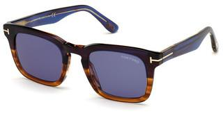 Tom Ford FT0751 55V blauhavanna bunt