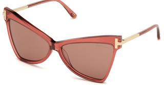 Tom Ford FT0767 72Y violettrosa glanz
