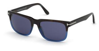 Tom Ford FT0775 55V blauhavanna bunt
