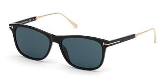 Tom Ford FT0813 01V blauschwarz glanz