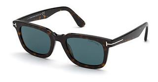Tom Ford FT0817 52V blauhavanna dunkel