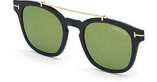 Tom Ford FT5532-B-CL 52G braun verspiegelthavanna dunkel