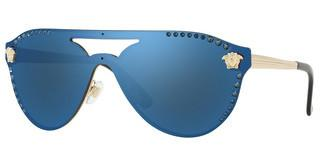 Versace VE2161B 125255 DARK BLUE MIRROR BLUEPALE GOLD