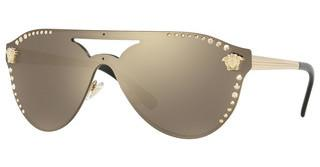 Versace VE2161B 12525A LIGHT BROWN MIRROR DARK GOLDPALE GOLD