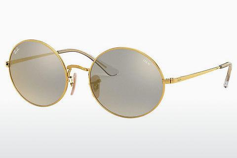 Lunettes de soleil Ray-Ban OVAL (RB1970 001/B3)