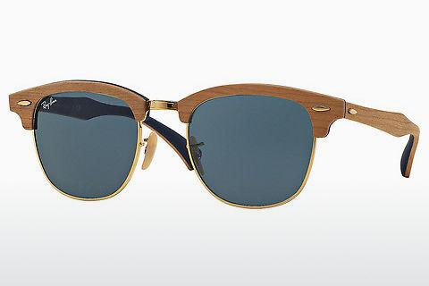 Lunettes de soleil Ray-Ban Clubmaster Wood (RB3016M 1180R5)