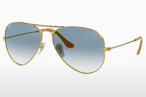 Lunettes de soleil Ray-Ban AVIATOR LARGE METAL (RB3025 001/3F)