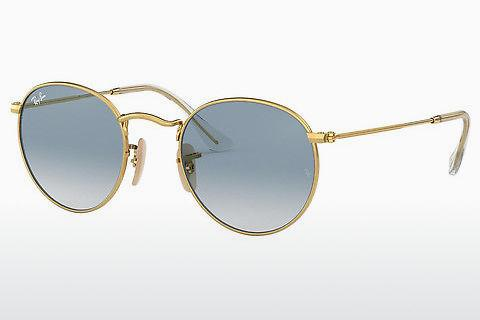 Lunettes de soleil Ray-Ban ROUND METAL (RB3447N 001/3F)