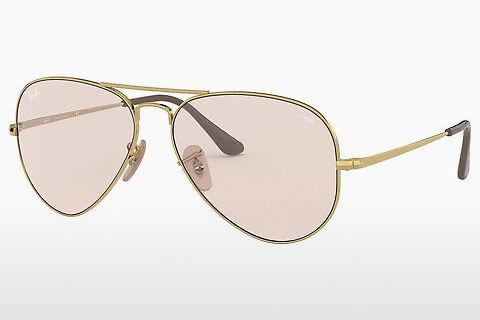 Lunettes de soleil Ray-Ban AVIATOR METAL II (RB3689 001/T5)