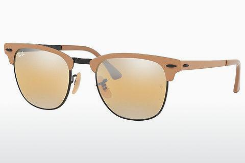Lunettes de soleil Ray-Ban CLUBMASTER METAL (RB3716 9157AG)