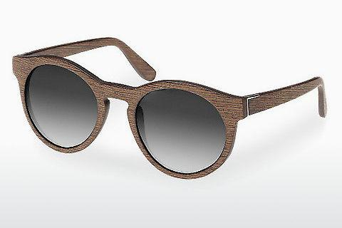 Lunettes de soleil Wood Fellas Au (10756 walnut/grey)