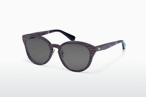 Lunettes de soleil Wood Fellas Possenhofen (10955_S black oak)
